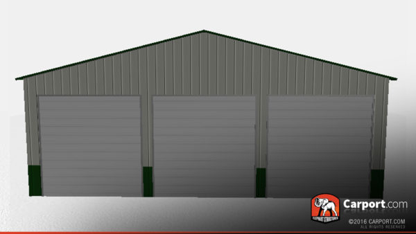 40 x 51 x 14 metal workshop building