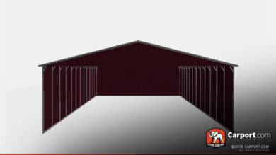 40x51 RV Carport Three-Sided 3