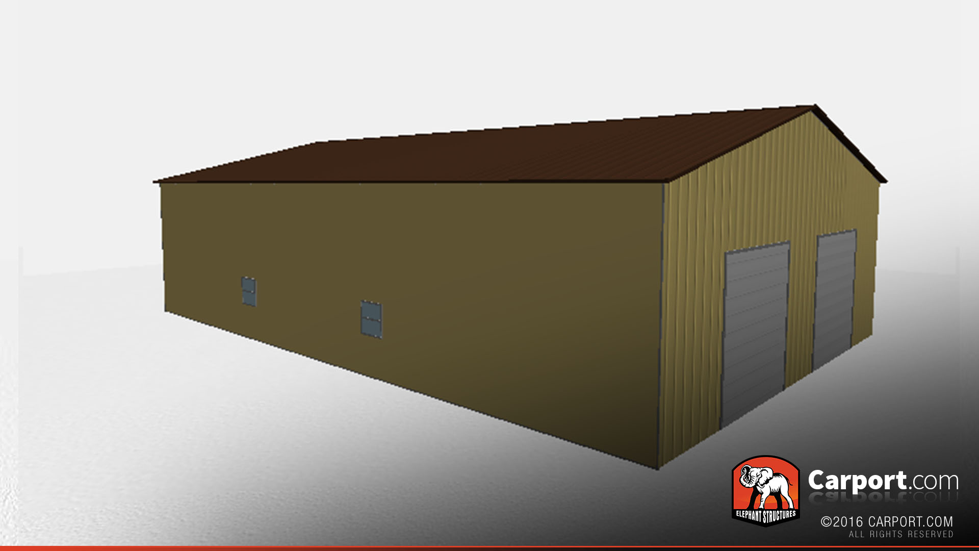 Metal building garage with vertical panels 40 39 x 60 39 x 14 for Housse 40x60
