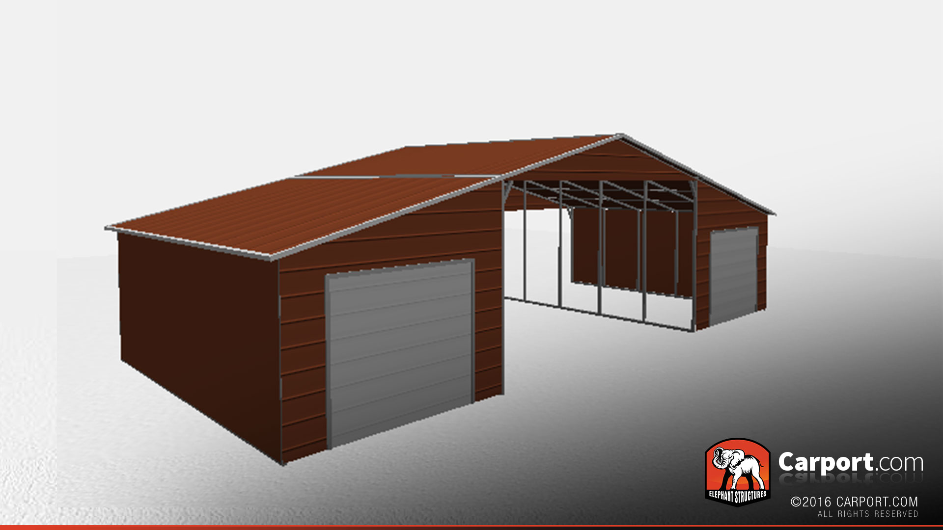 42 39 x 21 39 x 12 39 valley style metal barn shop metal for Barn style metal buildings