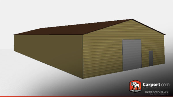 50x100 Commercial Metal Building 3