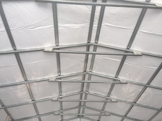 Insulation Metal Carport : How to insulate your metal barn best insulation for