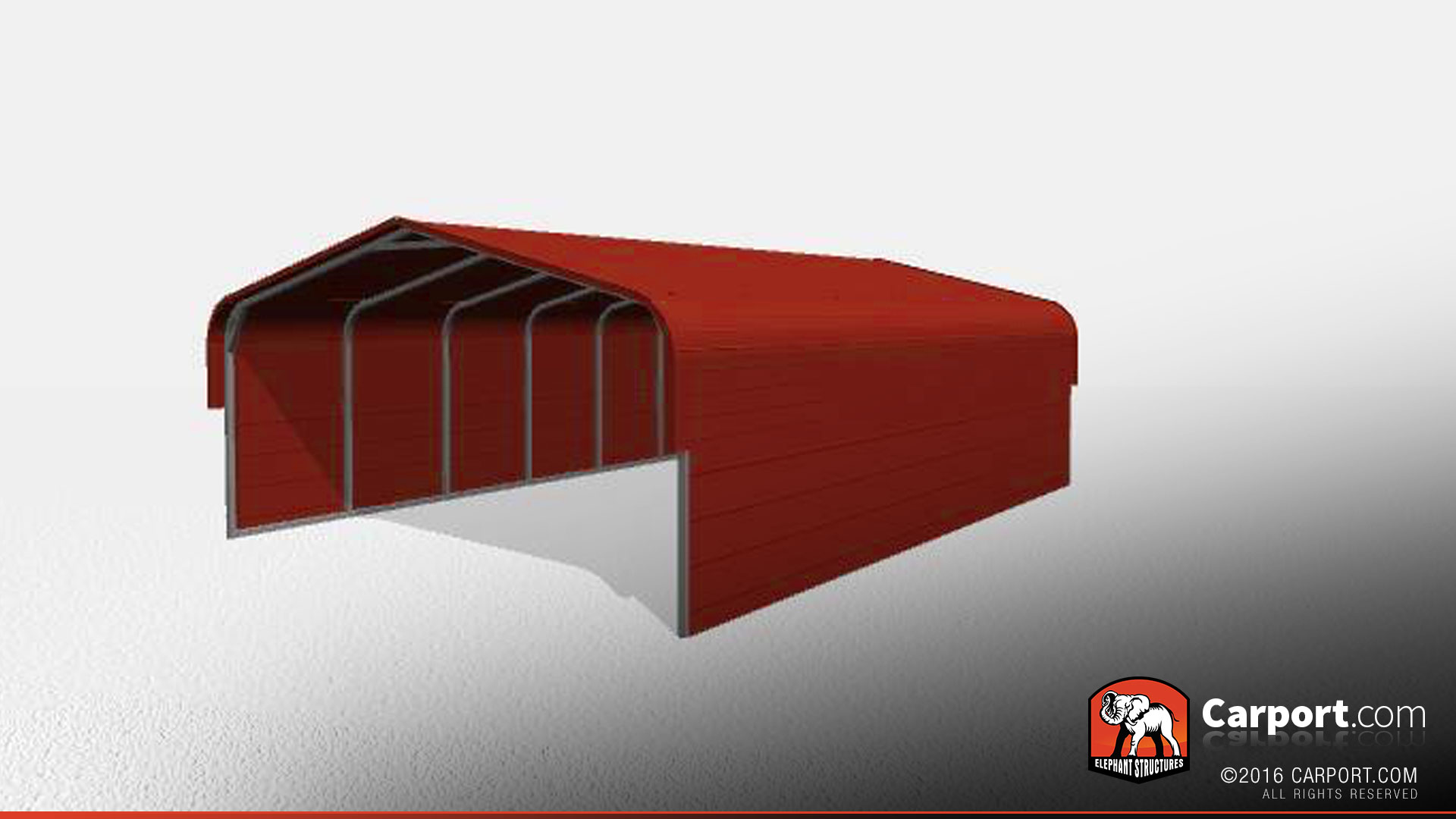 Double Wide Metal Carport 18 X 26 X 7 Shop Metal