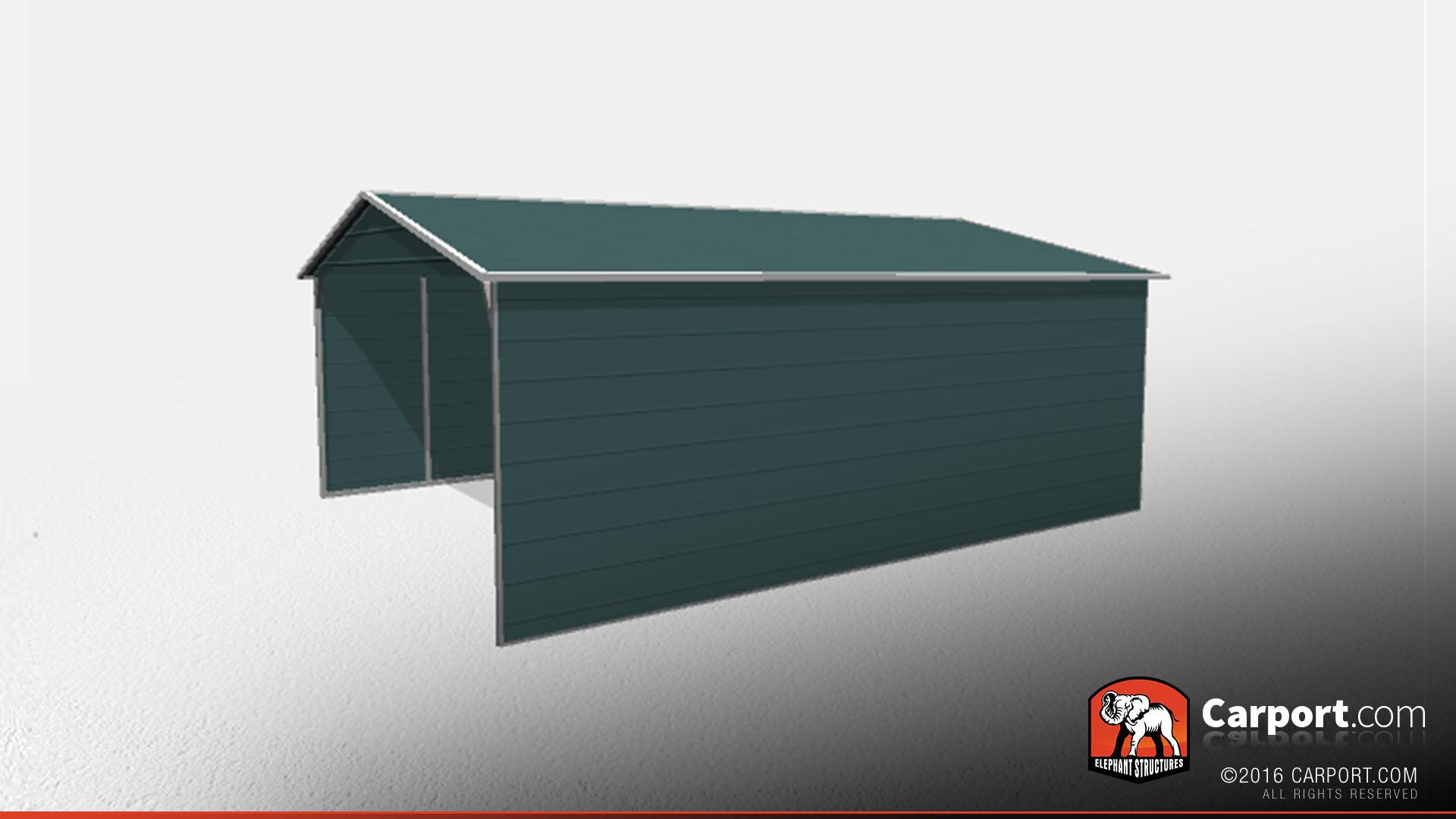 20x26 Commercial Grade Metal Carport