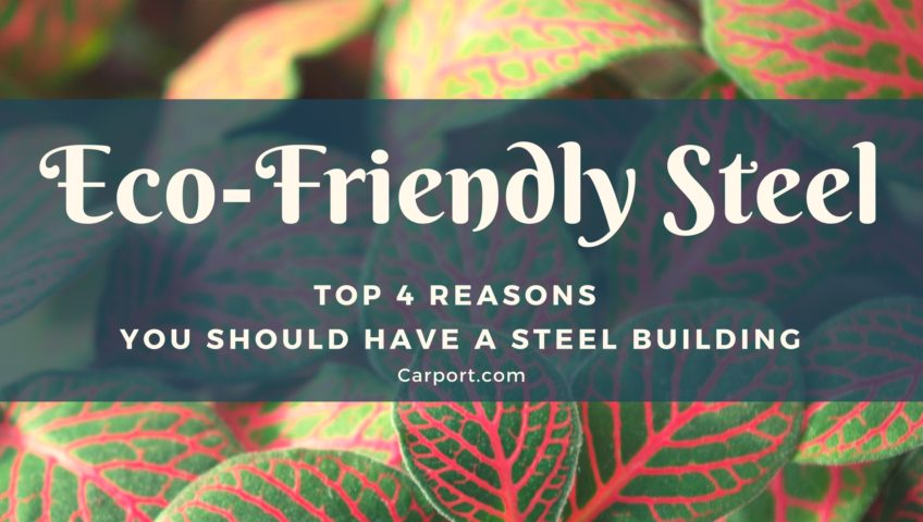 Eco-Friendly Steel Top 4 Reasons You Should Have a Steel Building