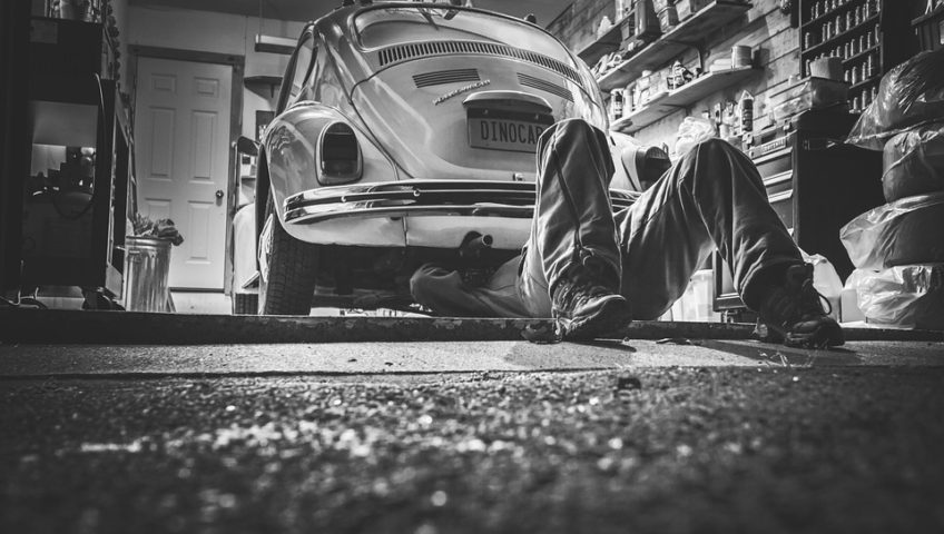 Repair your car in one of our metal garages and save!