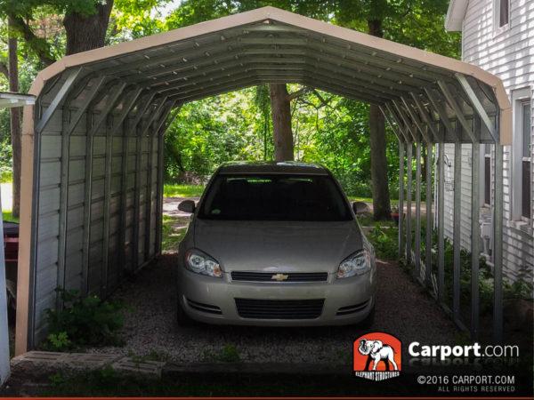 12x21 Single Wide Metal Carport