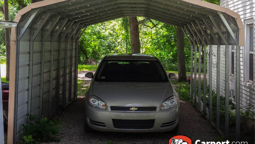 12x21 Single Wide Metal Carport