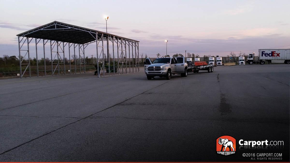 30x50 Commercial Carport