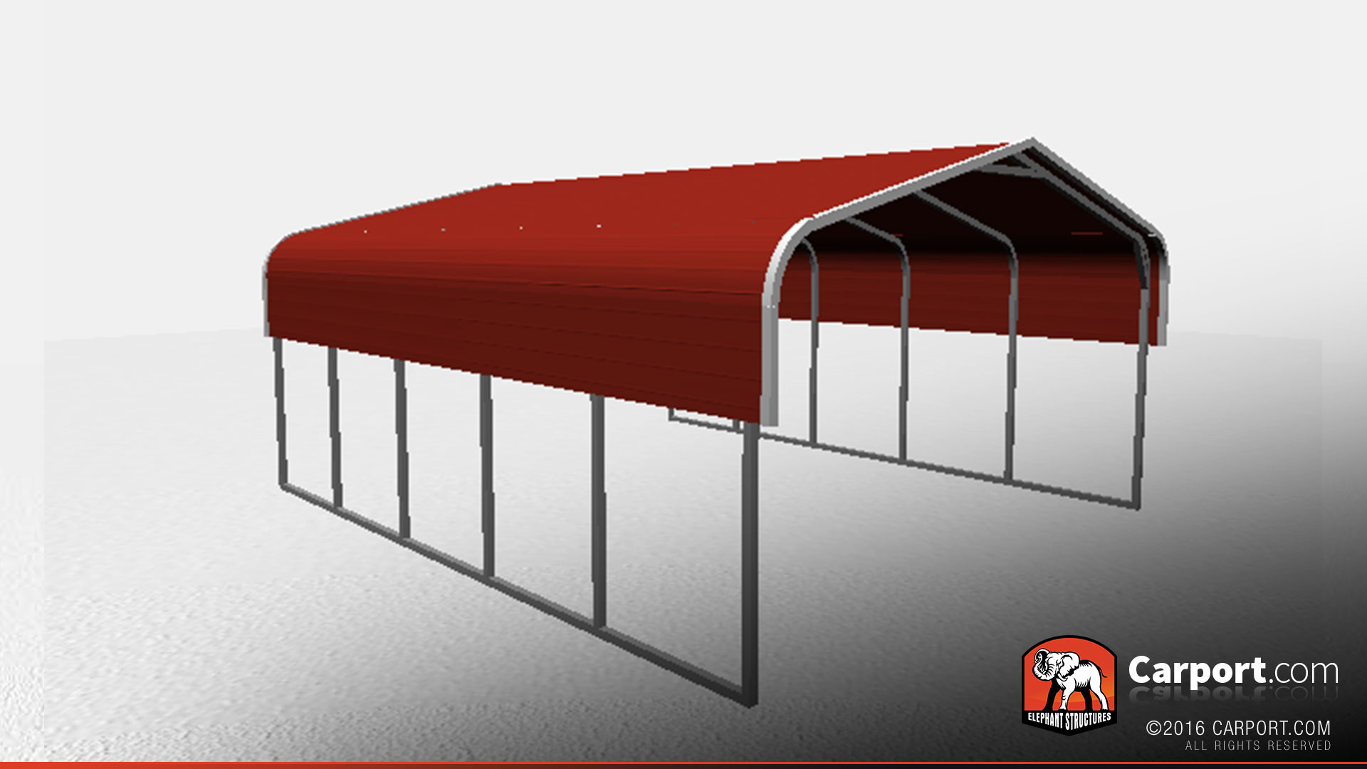 regular style metal carport for two cars shop metal buildings online. Black Bedroom Furniture Sets. Home Design Ideas