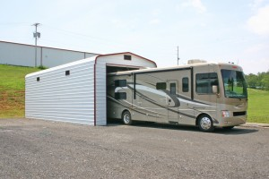 Metal RV Garage