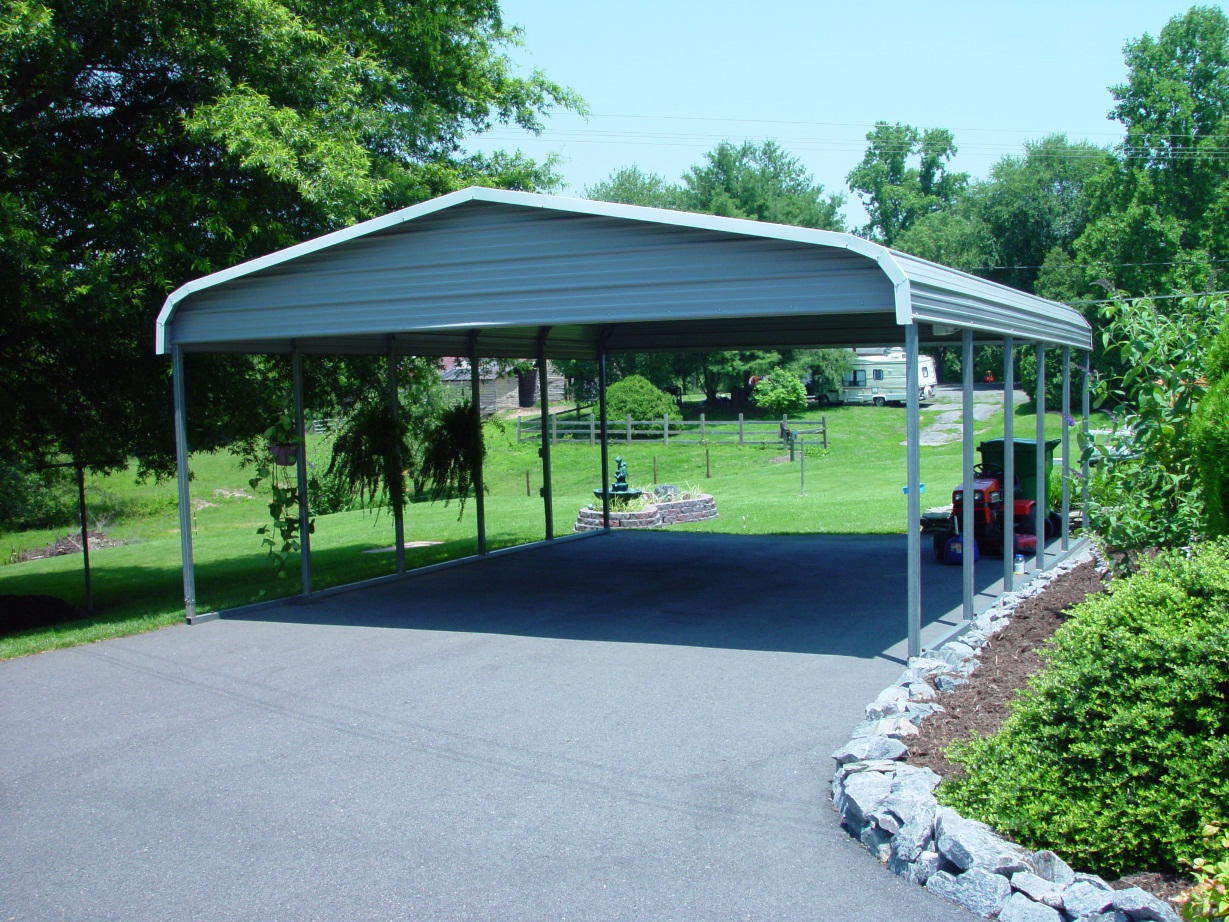Elephant Metal Carports : Ski motorboat carports metal boat covers and