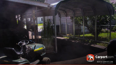 18x24 Double Wide Carport