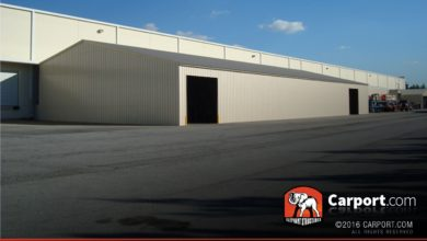 Commercial Metal warehouse