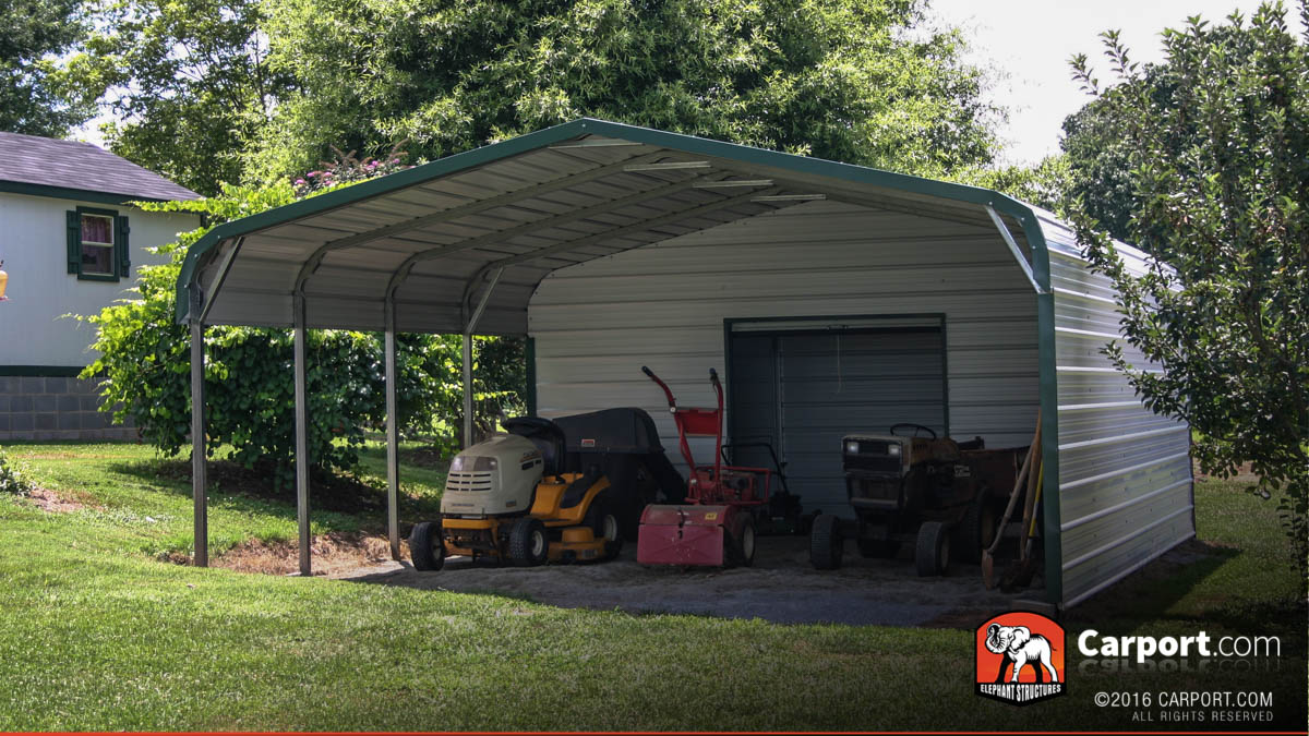 Metal sheds steel storage garden sheds for Garages and carports